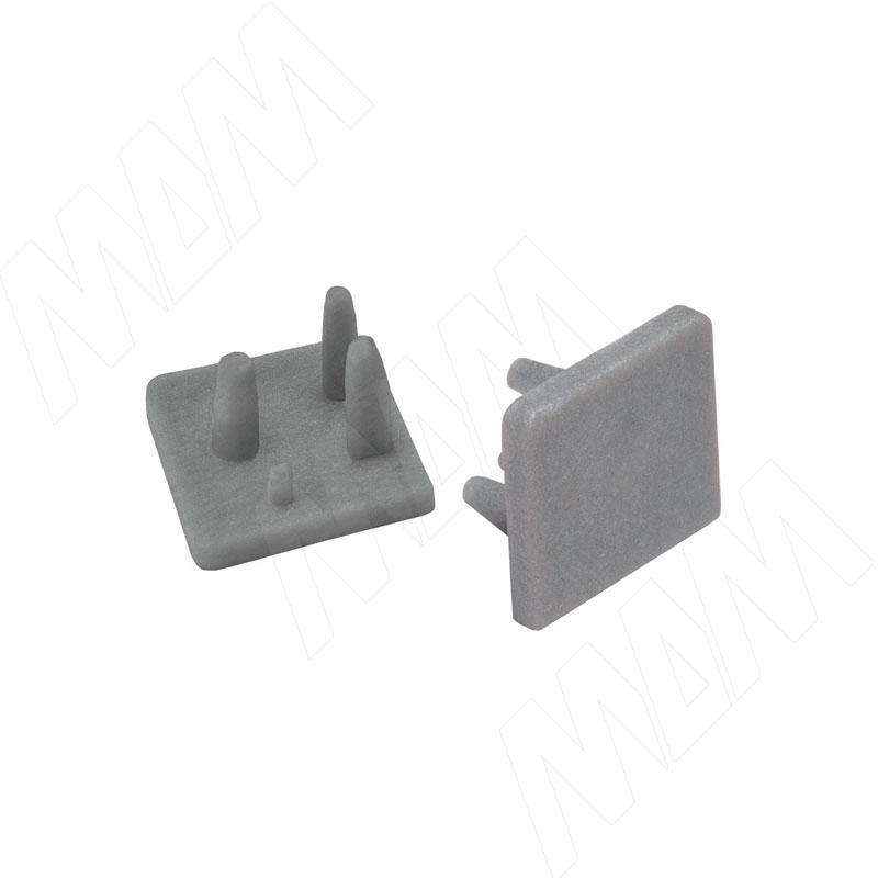 PS22 Пластиковая заглушка для напр. 15 мм, комп. лев./прав. (PS22TT8E02) заглушка пластиковая для д профиля квадратного 20 sb черные