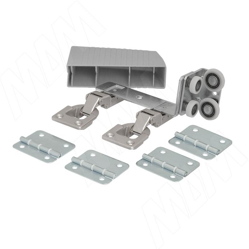 PS23 Компл. роликов и аксессуаров для складной двери (левый) (PS23DL)