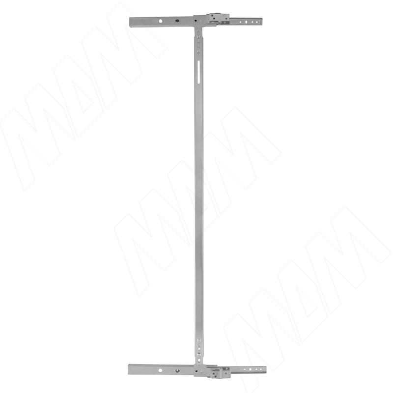 INTEGRO Направляющие для поворотно-выдвижного зеркала с соединительной планкой, 235 мм (RS2710)