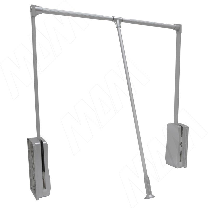 Пантограф 690-990 мм, нагр. 12 кг, серый металлик (RTU-03-ALUM M)