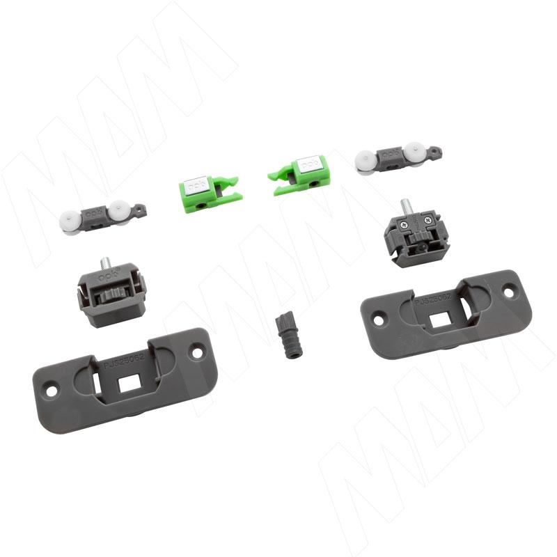 Yutu комплект роликов для одной деревянной двери до 15 кг (YU12220C)