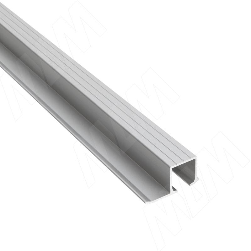 Фото - Yutu направляющая верхняя, серебро, L-3000 (YUA067) ps48 направляющая верхняя усиленная быстрый монтаж серебро l 3050 pr483002004a s