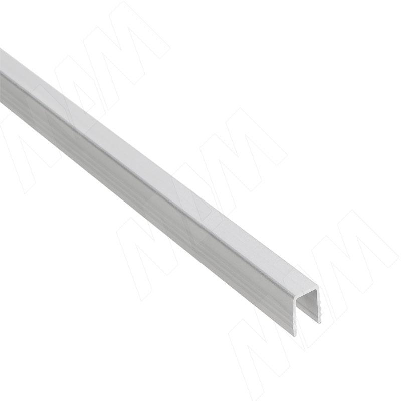 Yutu направляющая нижняя для деревянной двери, серебро, L-3000 (YUA068)
