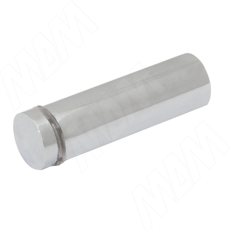 Крепление зеркала/стекла к стене с выносом 55 мм, D19,хром (J01B 19X60 CP)