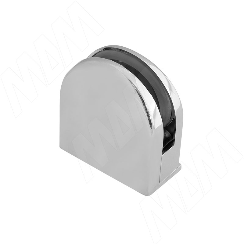 Коннектор ДСП-стекло 8-12 мм, хром (J78 CR)