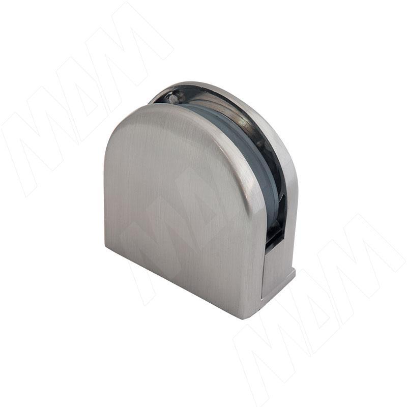 Коннектор ДСП-стекло 8-12 мм, никель сат. (J78 SN)