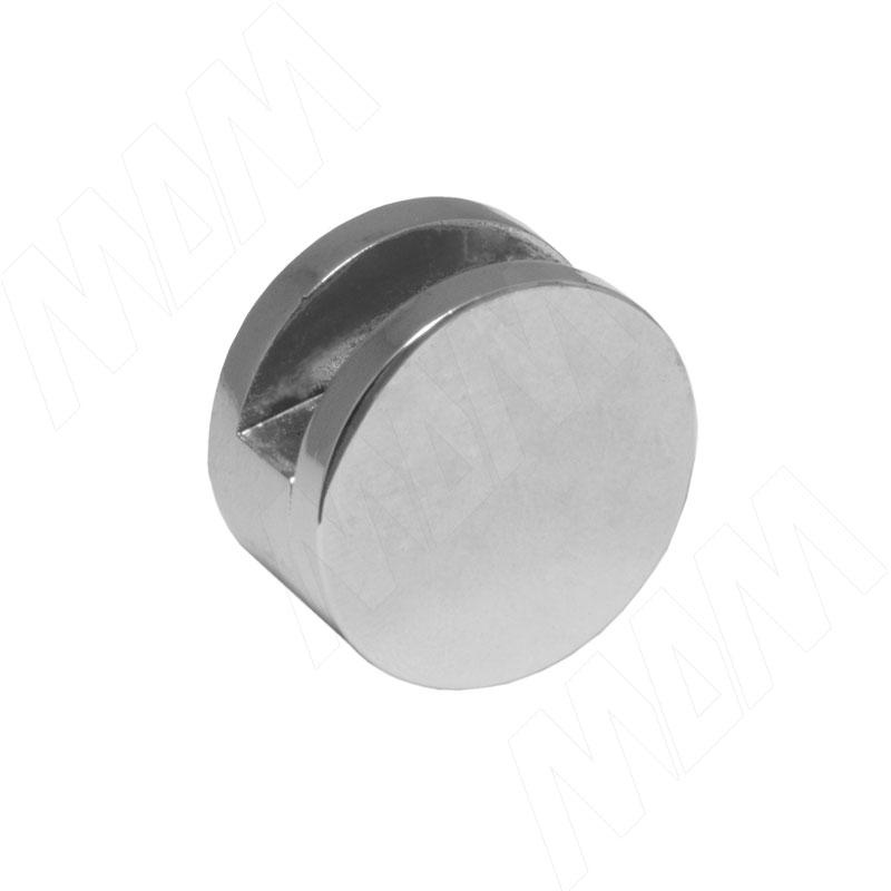 Крепление зеркала 6-8 мм к стене, D22, хром (JA60E CP)