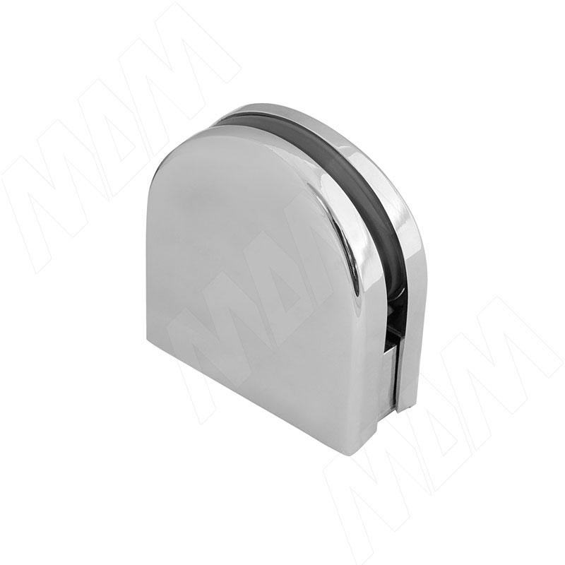 цена на Коннектор труба-стекло 4-8 мм, хром (K90 CR)
