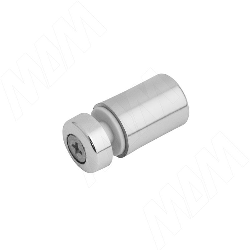 Полкодержатель односторонний, хром (пластик) (Р004-02/CH) цена 2017