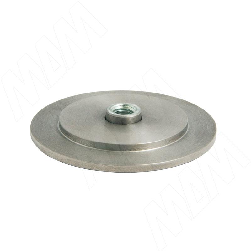 Элемент для клейки стекла на трубу d 25 без винта сталь (C25/V ST)