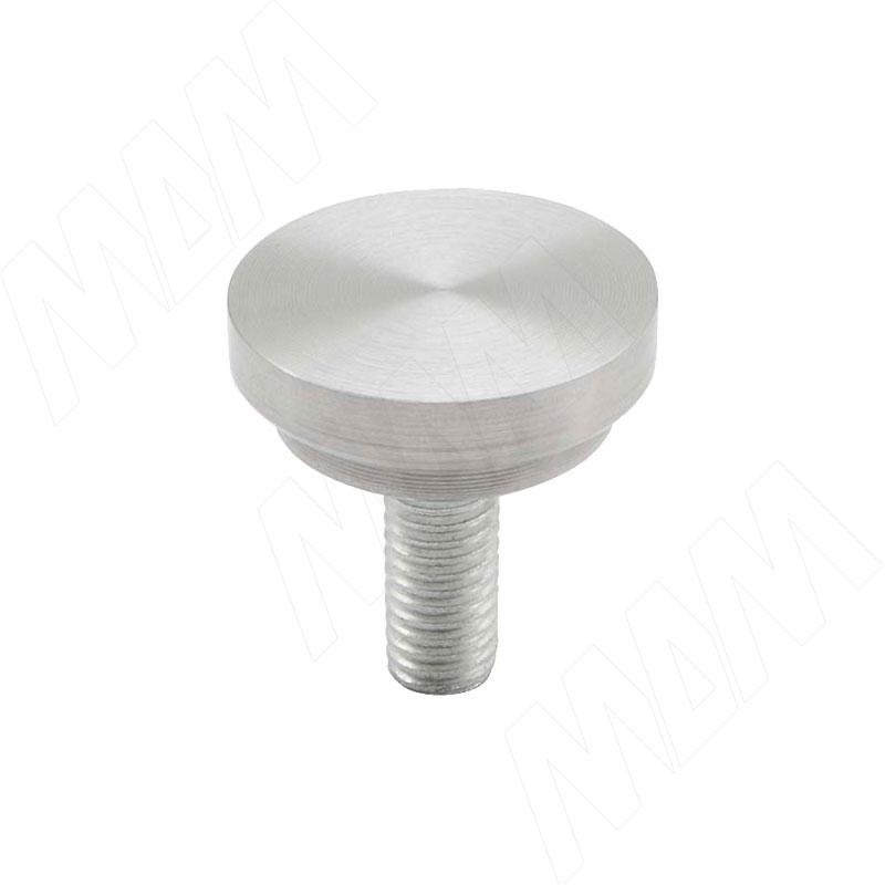 Элемент для клейки стекла на трубу d 25 с винтом М8 сталь (C25 ST M8)