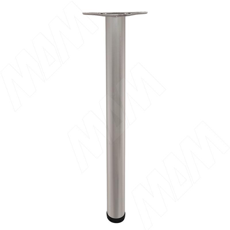 Опора для стола, D60, H710+25 мм, мат. никель, 4шт. (X4RG 710 MNK 4)