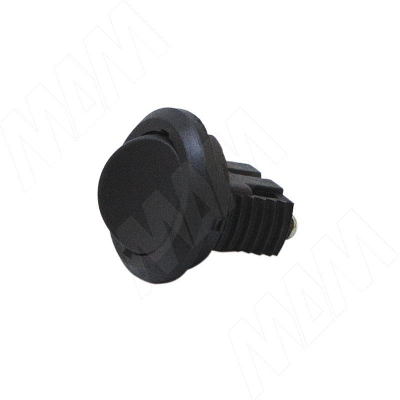 Выключатель врезной, черный (300 ЧЕРНЫЙ)