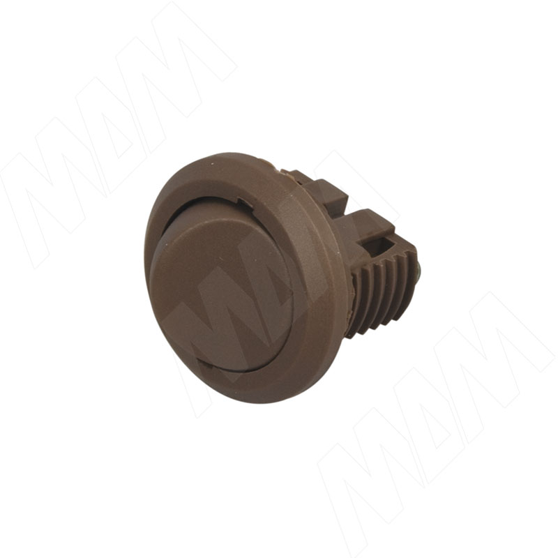 Выключатель врезной, коричневый (300 КОРИЧН)