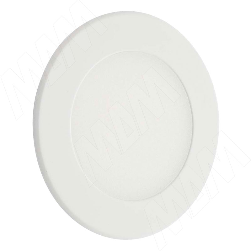 ATOM Точечный светильник круглый, белый, 24V, нейтральный белый 4000К, 3W (AT24-RNO-WTNW3) elvan точечный светильник elvan 16 pk chr