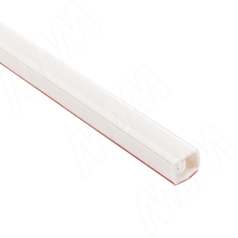 Кабель-канал с самоклеящейся лентой, 10х7,5 мм, белый, L-2000 (C217.2136) кабель fujipower белый