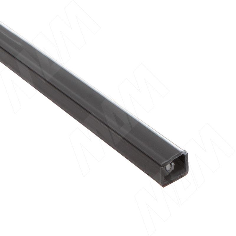 Кабель-канал с самоклеящейся лентой, 10х7,5 мм, черный, L-2000 (C217.2169) кабель