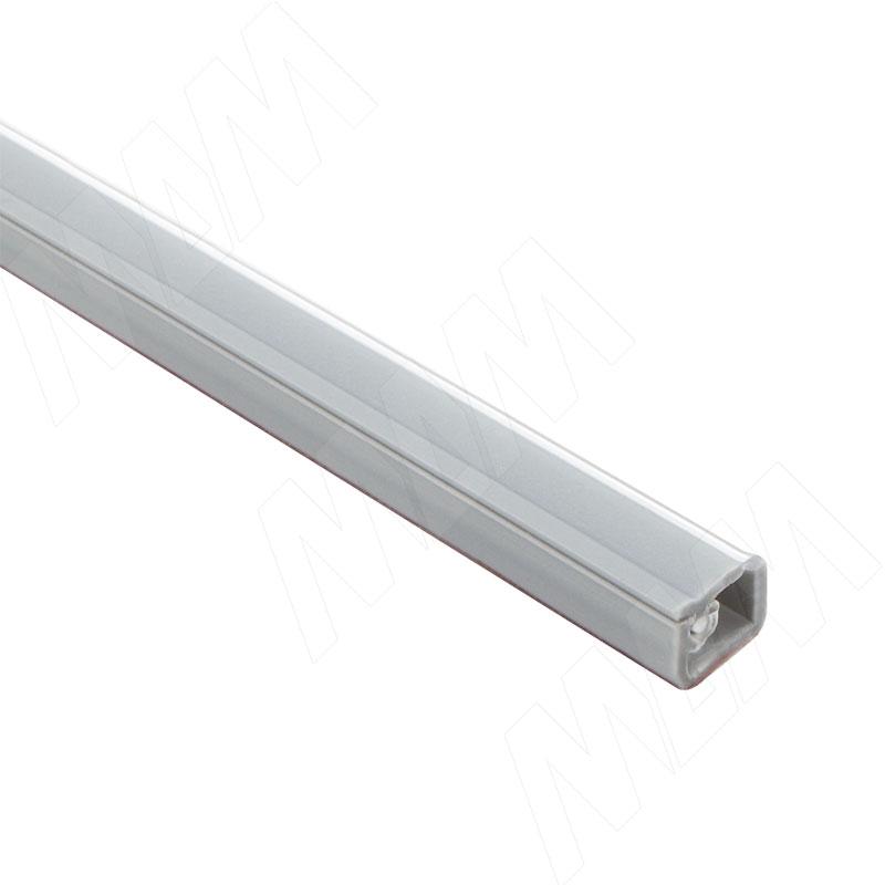 Кабель-канал с самоклеящейся лентой, 10х7,5 мм, серебро, L-2000 (C217.416) кабель