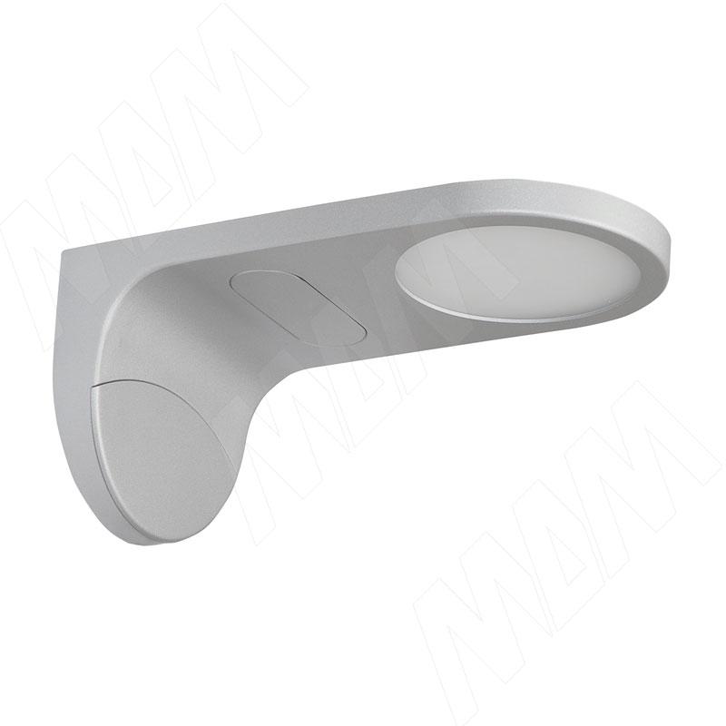 ELLIPSE Светильник светодиодный, хром матовый, 12V, теплый белый 3200К, 4.8W (ELLIPSE)