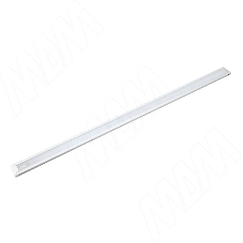 FINO Светодиодный светильник без выключателя, серебро, 12V, 500мм, нейтральный белый 4000К, 5W (FI12-500NO-AL-NW5)
