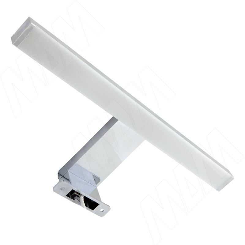 Светодиодный светильник для верхней подсветки, хром, 220V, IP44, нейтральный белый 4000K, 4.4W (LEDHLC-226-300)