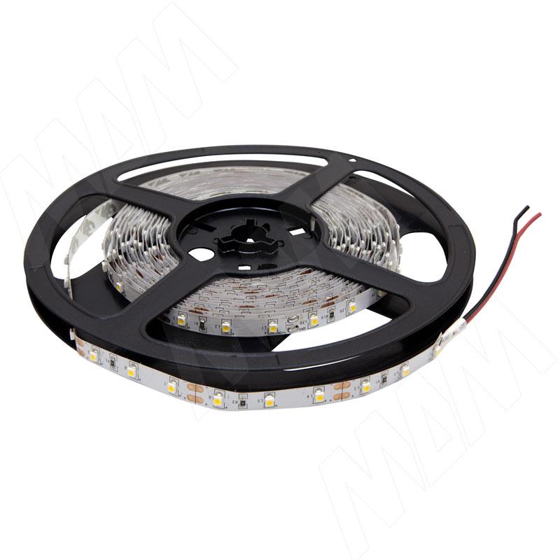 Лента светодиодная 2835/60, 12V, 5 м, нейтральный белый 4000К, IP20, 4.8W/1м (LS-2835NW-IP20-4.8) лента светодиодная 2835 60 12v 5 м нейтральный белый 4000к ip20 4 8w 1м ls 2835nw ip20 4 8