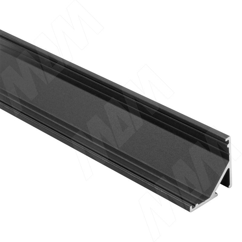 Фото - Профиль СМ2, угловой, черный, 16х16мм, для овального рассеивателя, L-2000 (LSP-CM2-ALU-2000-BL) профиль sm1 накладной серебро 16х7 5мм l 2000 lsp sm1 alu 2000 al