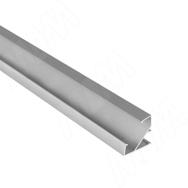 Фото - Профиль СМ3, угловой широкий, 33х33мм, L-2000 (LSP-CM3-ALU-2000-0) профиль sm1 накладной серебро 16х7 5мм l 2000 lsp sm1 alu 2000 al