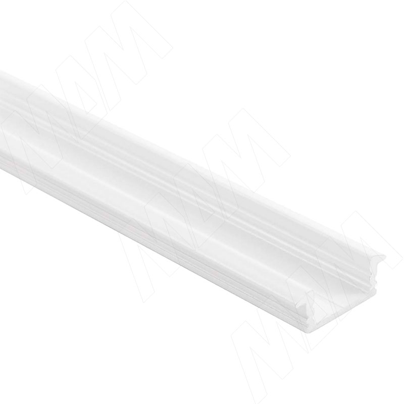 Фото - Профиль FM1, врезной, белый матовый, 22х7мм, L-2000 (LSP-FM1-ALU-2000-WHM) профиль sm1 накладной серебро 16х7 5мм l 2000 lsp sm1 alu 2000 al