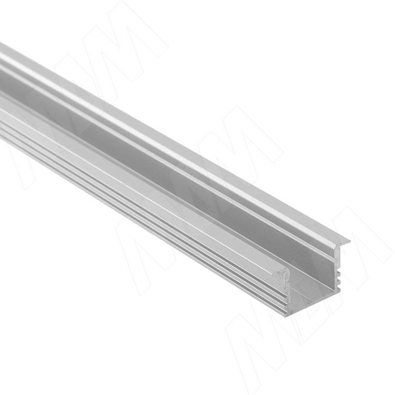 Фото - Профиль FM2, врезной увеличенной высоты, 22х12мм, L-2000 (LSP-FM2-ALU-2000-0) профиль sm1 накладной серебро 16х7 5мм l 2000 lsp sm1 alu 2000 al