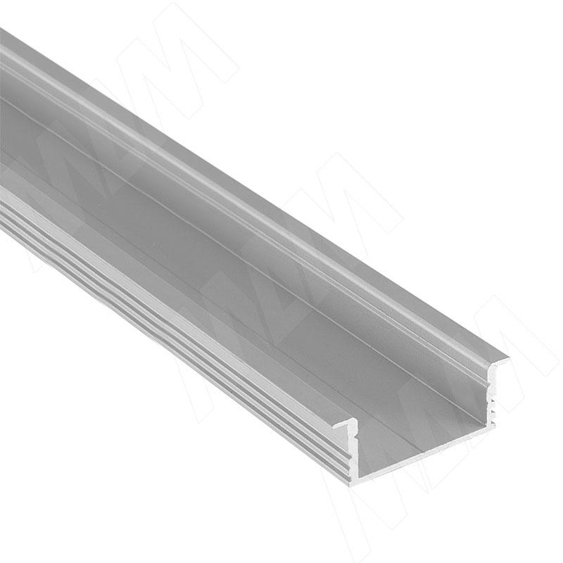 Фото - Профиль FM3, врезной широкий, 34х12мм, L-2000 (LSP-FM3-ALU-2000-0) профиль sm1 накладной серебро 16х7 5мм l 2000 lsp sm1 alu 2000 al