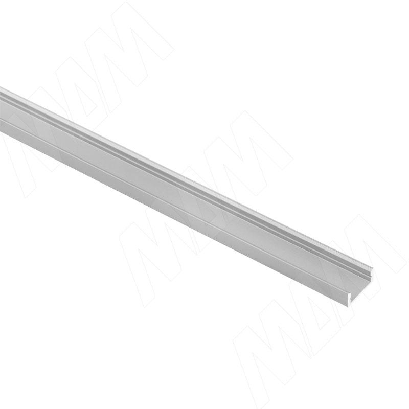 Профиль SM1, накладной, 16х7мм, L-2000 (LSP-SM1-ALU-2000-0) italline накладной светильник italline bok 07 alu