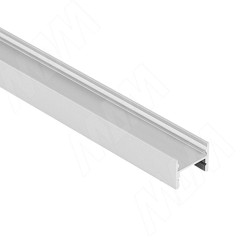 Профиль SM2, накладной быстрого монтажа, 16х12мм, L-2500 (LSP-SM2-ALU-2500-0) italline накладной светильник italline bok 07 alu