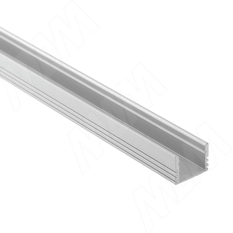 Профиль SM3, накладной увеличенной высоты, 16х12мм, L-2000 (LSP-SM3-ALU-2000-0) italline накладной светильник italline bok 07 alu