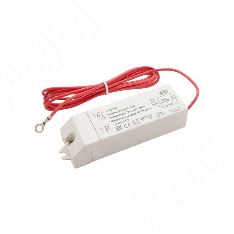 Выключатель сенсорный с контактным проводом, 220V, 500W (PM218WS-220V)