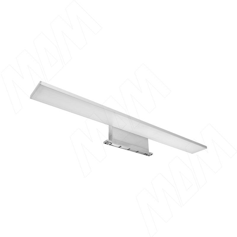 SLIMTH Светодиодный светильник для верхней подсветки, серебро, 220V, IP44, 600 мм, нейтральный белый 4000K, 10W (SM220-600-NW10) ledron lip0906 10w y 4000k black