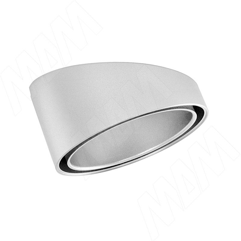 SMALLY Проставка OB круглая наклонная для врезных светильников, хром (SY-OB-C)