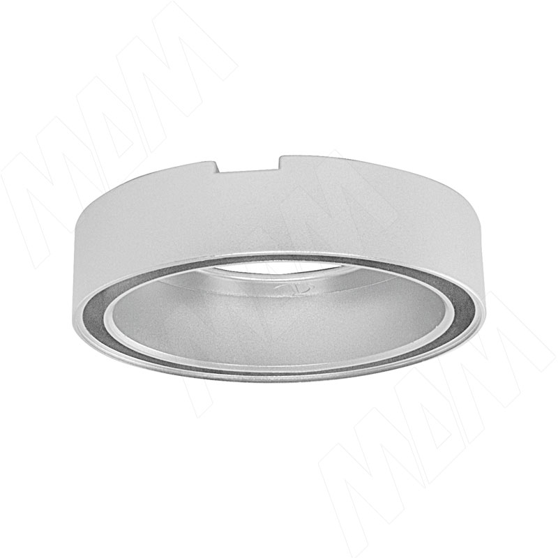 SMALLY Проставка SP круглая для врезных светильников, серебро (SY-SP-A)