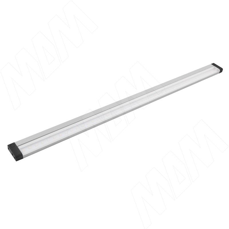 TARGA Светодиодный светильник с ИК-выключателем (IR), серебро, 12V, 1000мм, нейтральный белый 4000К, 10W (TA12-1000IR-NW10)