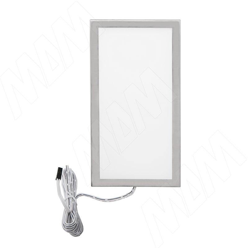 TITAN Светодиодный светильник накладной, нерж.сталь, 12V, 201мм, нейтральный белый 4000К, 6W (TI12-201NO-NW6) накладной светильник уфо загреб hrz00001455