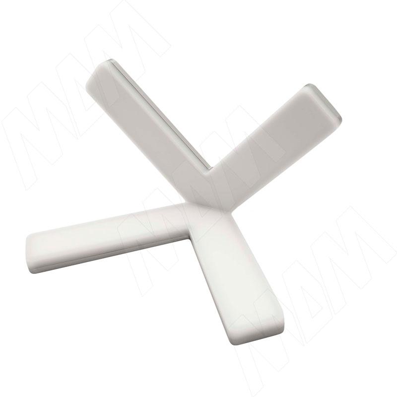 X-SIGN Светодиодный угловой светильник, белый/ нерж. сталь, 24V, нейтральный белый 4000К, 10W (XS24-CNO-WTS-NW10) светильник для растений uniel uli p10 10w spfr ip40 white светодиодный линейный 550мм