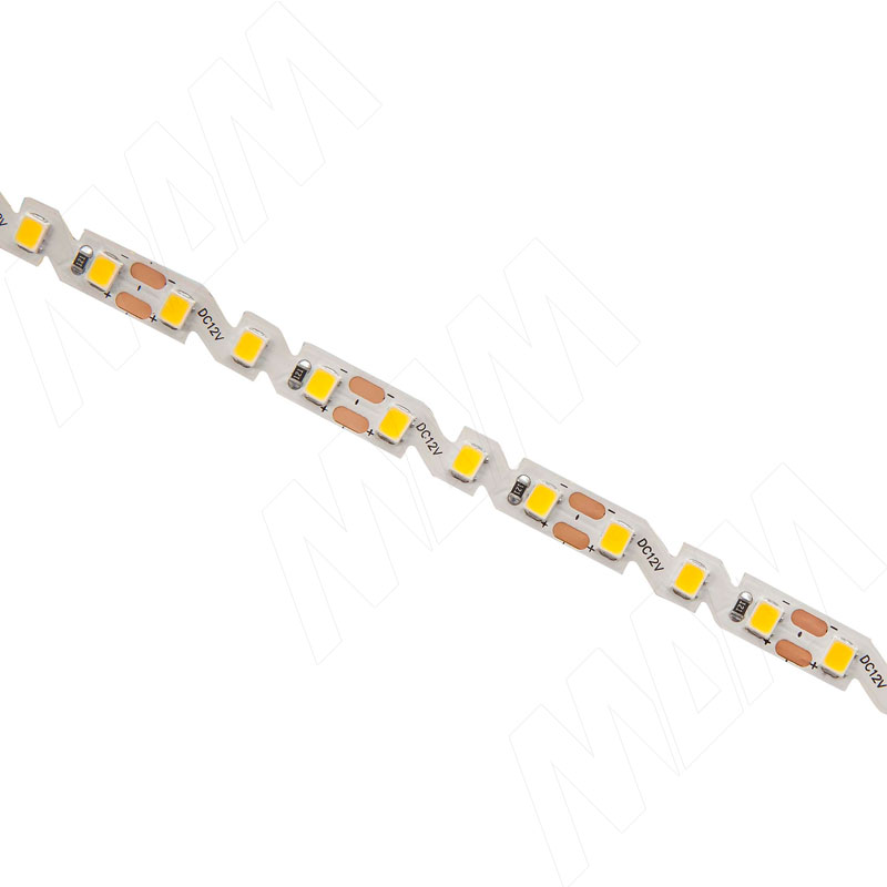 Фигурная лента светодиодная 2835/120, 12V, 5 м, нейтральный белый 4000К, IP20, 9,6W/1м фото товара 2 - LS12-2835NW20-9.6-S