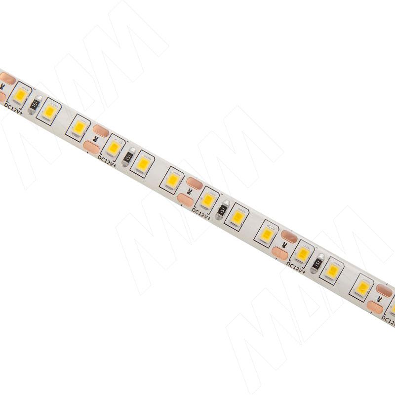 Лента светодиодная 2835/120, 12V, 5 м, нейтральный белый 4000К, IP65, 9.6W/1м фото товара 2 - LS12-2835NW65-9.6