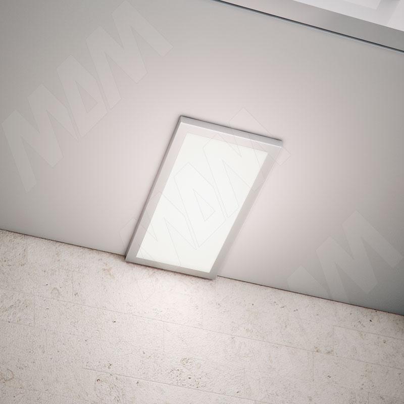 TITANx3 Комплект светильников с блоком питания, нерж.сталь, 12V, 201мм, нейтральный белый 4000К, 6W фото товара 2 - TI12-S3-201NO-NW6
