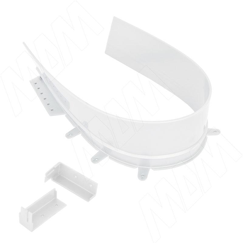 Профиль пласт. для ящика под мойку, белый, L=680 мм (10.1660.BI)
