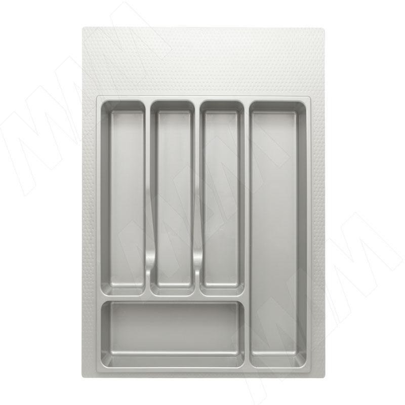 Лоток кухонный для ящика 400 мм металлик (72.40.M)
