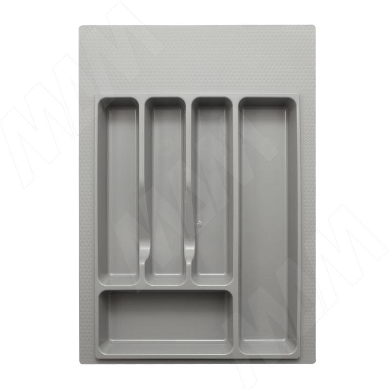 Лоток кухонный для ящика 400 мм, серый (73.40.GR)