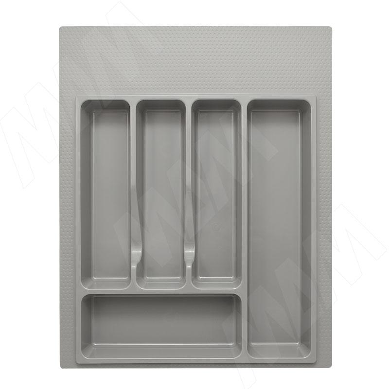 Лоток кухонный для ящика 450 мм, серый (73.45.GR)