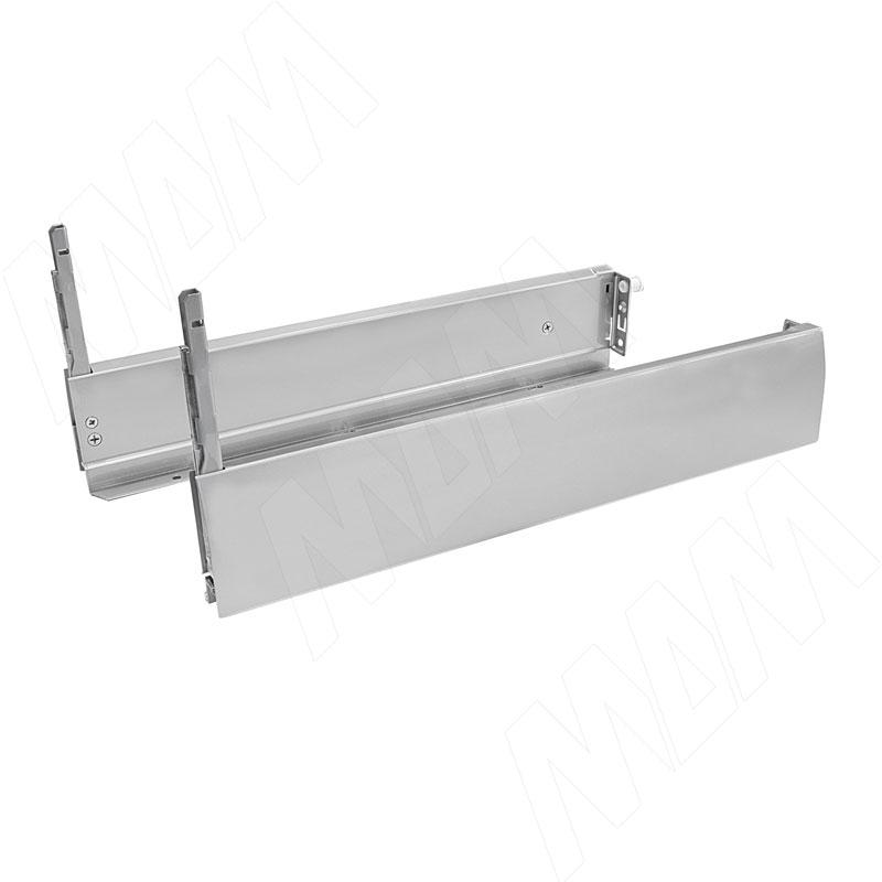 NOVA PRO CRYSTAL DELUXE Боковины 500 мм, (прав.+лев.), h90 мм, серый металлик (F100068864)
