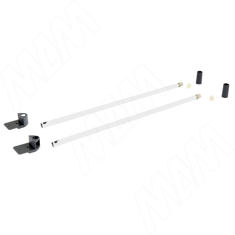 цена на NOVA PRO DELUXE комплект круглых рейлингов 350 мм, белый (F102045963)